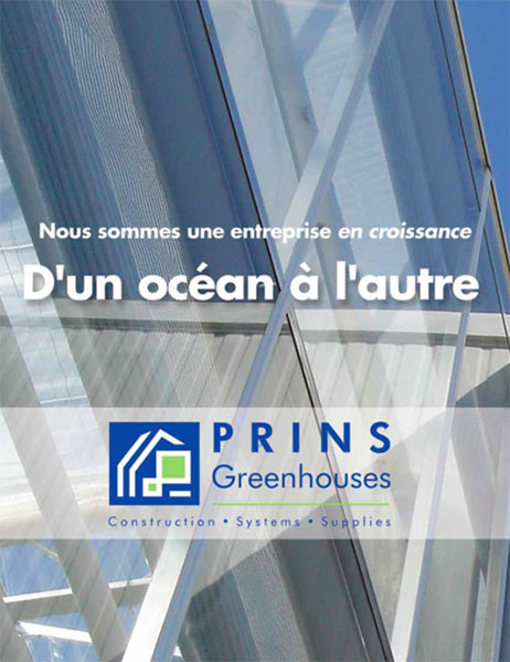 Prins Greenhouses Corporate Brochure