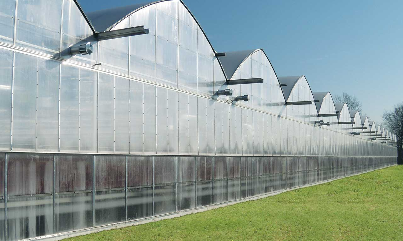 Poly Gutter Connect Greenhouses Prins Greenhouses